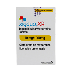 50%OFF en 2°U Xigduo Xr (10 Mg/1000 Mg)