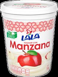 Yoghurt Lala Con Manzana 1 Kg