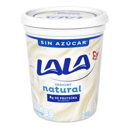 Yogurt Lala Natural Sin Azúcar 900 g