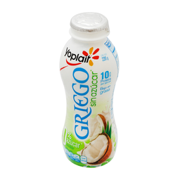 Yogurt Griego Yoplait Bebible Coco Sin Azúcar 220 g