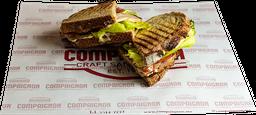 Turkey Bacon Salad Sandwich