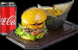 Envío Gratis: Sweet & Smokey Burger + Coca-Cola Sin Azúcar