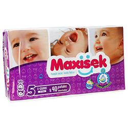 Pañal Desechable Maxisek Talla 5 40 1 U