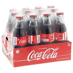 Refresco Coca-Cola Vidrio 237 mL x 12