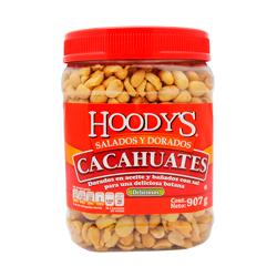 Cacahuates Hoody's Salados y Dorados 907 g