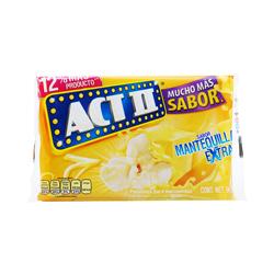 Palomitas Act II Para Microondas Mantequilla 90 g