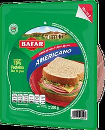 Jamón de pavo y cerdo estilo americano Bafar 200 g