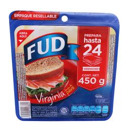 Jamón de Pavo Fud Virginia 450 g