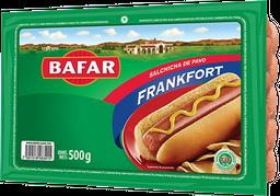 Salchicha de pavo tipo frankfort Bafar 500 g