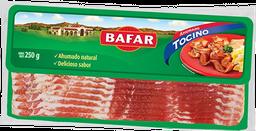 Tocino de cerdo ahumado rebanado Bafar 250 g