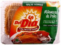 Milanesa de Pollo Del Día Empanizada Paquete 450 g