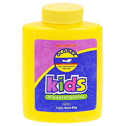 Talco Desodorante Kids Hipoalergénico 80 g