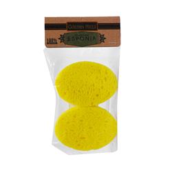 Esponja Facial Golden Hills Biodegradable 2 U