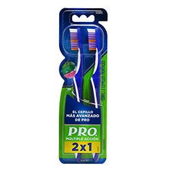 Cepillo Dental Oral-B Pro Múltiple Acción 2 U