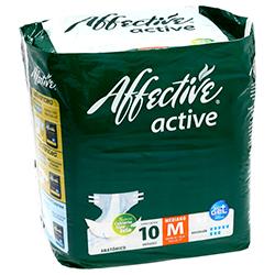 Pañal Para Adulto Affective Active Talla Mediano 10 U