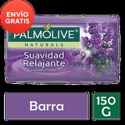 Jabón De Tocador Palmolive Naturals Lavanda y Crema 150 g