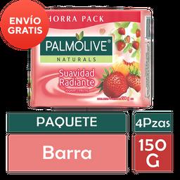 Jabón Palmolive Naturals Yoghurt y Frutas 4 U