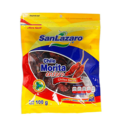Chile Morita San Lazaro Seco 100 g