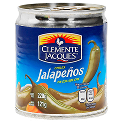 Chiles Jalapenos Enteros 220 g