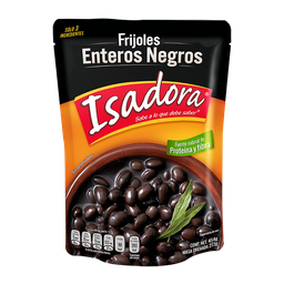 Frijoles Isadora Enteros Negros 454 g