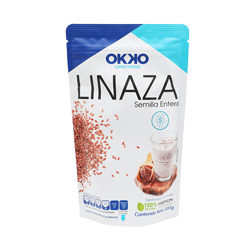 Linaza Okko Semilla Entera 300 g
