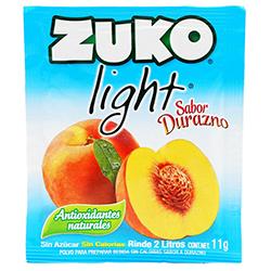 Bebida en Polvo Zuko Light Durazno 11 g