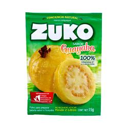 Polvo Para Agua Zuko Guayaba 15 g