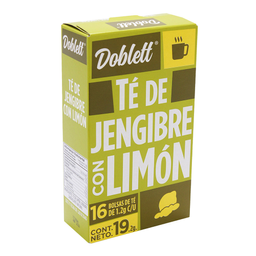 Te De Jengibre Con Limon 19 g