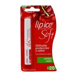 Protector Labial Lip Ice Soft Cereza Mint 2 g