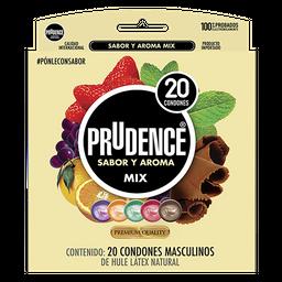 Condones Prudence Mix 20 U