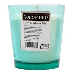 Veladora Vaso Coctelero De Color 1 U