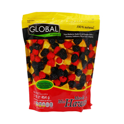 Fruta Congelada Global Premier Mezcla Hawaii 454 g