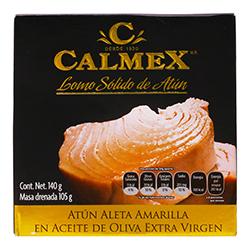 Lomo de Atún Calmex en Aceite de Oliva Extra Virgen 140 g