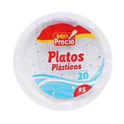 Plato Plastico 5 20 Bol