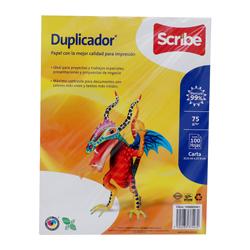 Papel Duplicador Carta Paquete Con 100Hj 1 U