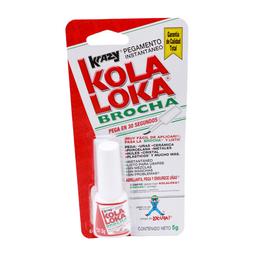 Pegamento Instantáneo Kola Loka Brocha 5 g