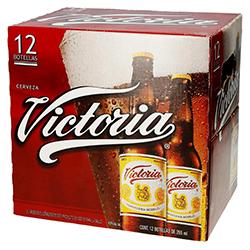 Cerveza Victoria Oscura 325 mL x 12
