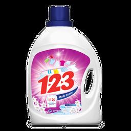 Detergente Líquido 1.2.3. Maxi Efecto 4.65 L