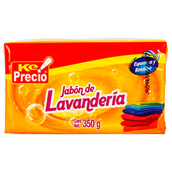 Jabon De Lavanderia Amarillo 350 g