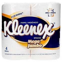Papel Higiénico Kleenex Brand Mega Jumbo Doble Hoja 4 U