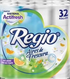 Papel Higiénico Regio Aires de Frescura 32 U