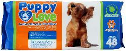 Puppy Love Toalla Humeda 48 Bol