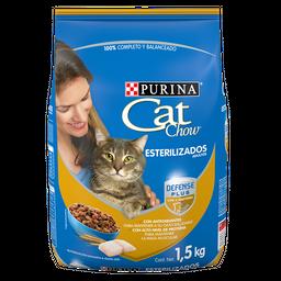 Alimento Para Gato Adulto Cat Chow Esterilizado 1.5 Kg