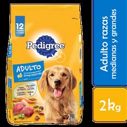 Alimento Para Perro Pedigree Vital Protection Adulto 2 Kg
