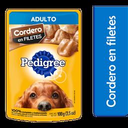 Alimento Para Perro Pedigree Adulto Cordero 100 g