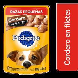 Alimento Para Perro Pedigree Cordero Original 100 g