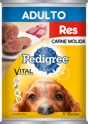 Alimento Para Perro Pedigree Res Carne Molida 625 g