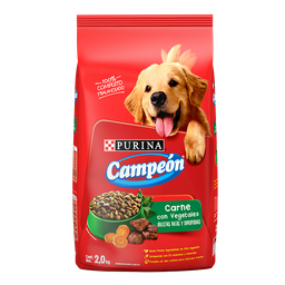 Alimento Para Perro Campeón Receta Casera Adulto 2 Kg