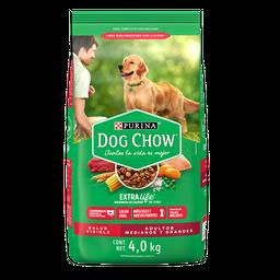 Alimento Para Perro Dog Chow Adulto Raza Mediana 4 Kg