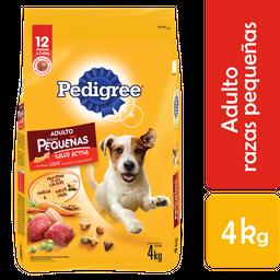 Alimento Para Perro Pedigree Adulto Raza Pequeña 4 Kg